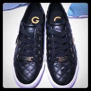 G by Guess Black Lace Ups - 7.5